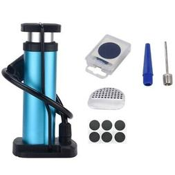 1x mini bicycle floor pump foot pedal