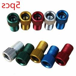 5 *METAL ADAPTOR PRESTA TO SCHRADER BICYCLE VALVE CONVERTER