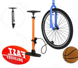 Bicycle Bike Floor Pump Tire Pump with Gauge Presta Valve Ty