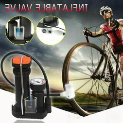 Bicycle Foot Pump High Pressure Electric Motorcycle Pedal Ai