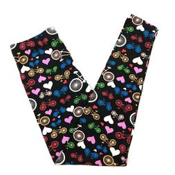 BICYCLE LOVE HEARTS BUTTER SOFT 92/8 LEGGINGS