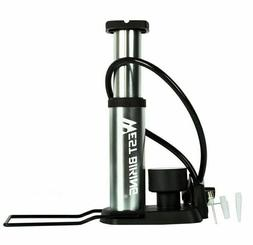 Bicycle Pump Portable Ultra-light High Pressure Foot Cyclin