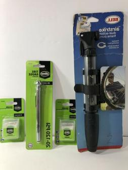 BELL Bicycle Tire Pump Airstrike 300 Dual Action Frame mount