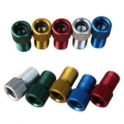 Bicycle Valve Adapter Convert Presta to Schrader Tube Air Pu