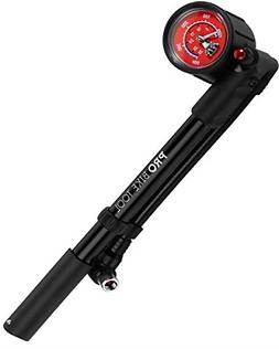 Bike Shock Pump for Mountain, MTB, Road Bikes and Motorcycle