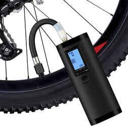 Car Pump Motorcycle Bike Truck Bicycle USB Rechargeable Elec