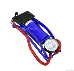 Foot Air Pump inflator For Ball Bike Bicycle Tire Inflator I