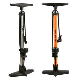 High Pressure 160 psi Bike Cycling Tire Air Pump with Barome