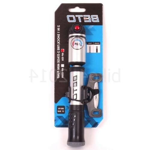 BETO High Pressure Shock 2in1, 2-Stage Cycling Bicycle