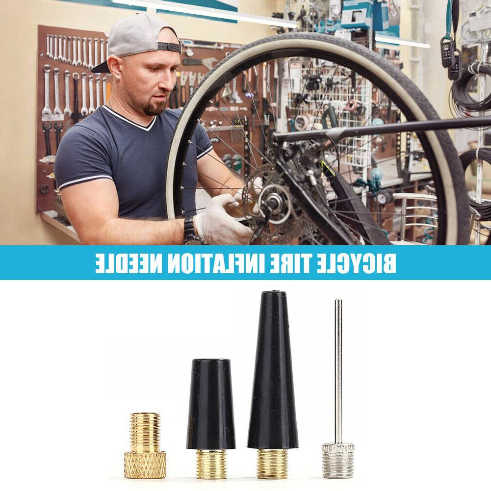 4pcs Adapter Bicycle Tire Inflate Pump Parts