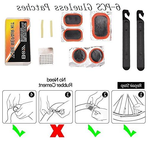 Bicycle Repair Bicycle Tire Bike Patches For Travel Tool Bag Tool Kit Safety All Tool
