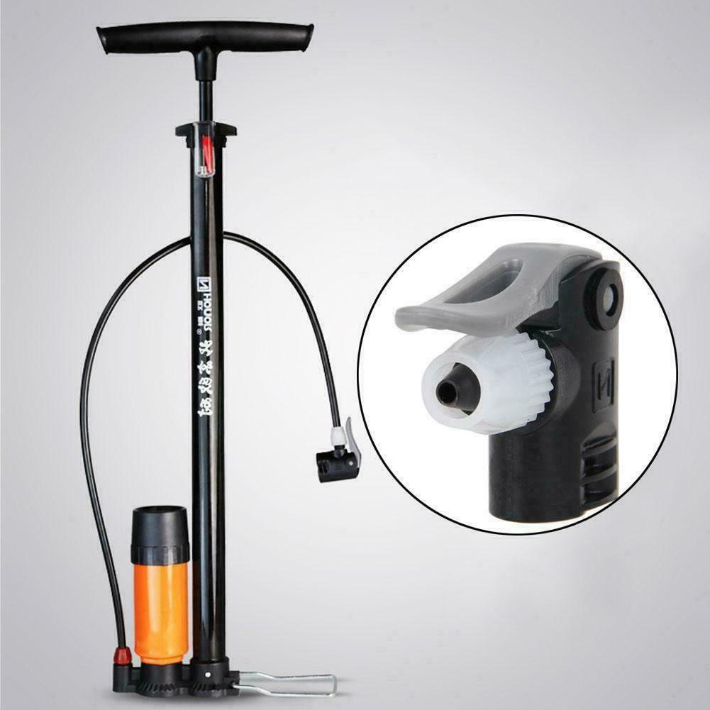 Bike Bicycle Pump Nozzle Hose Valve Connector Adapter Head D