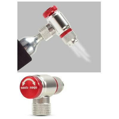 CO2 Inflator Head Attachment Spare Bicycle Pump