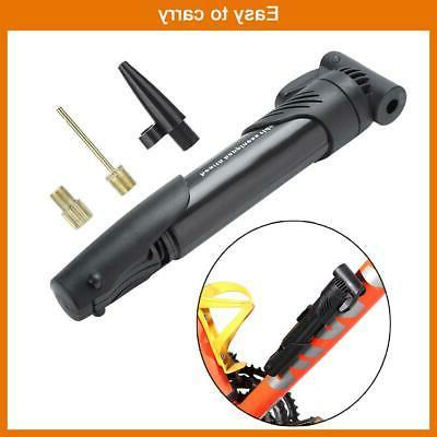 Bicycle Hand Air Inflator Attach Black