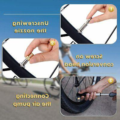 Presta for Bicycle Tire Air | Compatible with