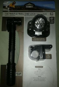 Mammoth Platinum Series Brilliant LED head/bike lamp & pump
