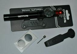 Wantdo Portable Bike Pump with Accurate Pressure Gauge 140PS