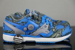 Reebok Pump Running Dual Cycle Blue Grey Steel V61555 Size 6