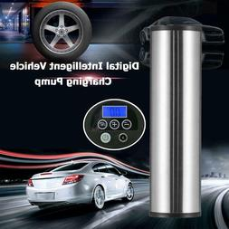 Rechargeable Electric Bicycle Pump Digital Display LCD Car B