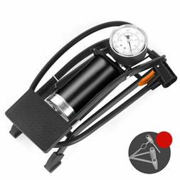 Single Double Cylinder Foot Air Pump High Pressure Pedal Inf