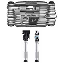 Crankbrothers Sterling SG Compact Bike Pump and M19 Multi Bi